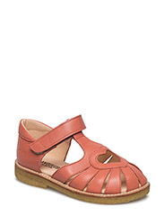 Sandal with heart detail - 1436 LIGHT CORAL