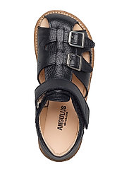 Sandal with two buckles in front