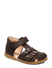 Sandals - flat - 1660 DARK BROWN