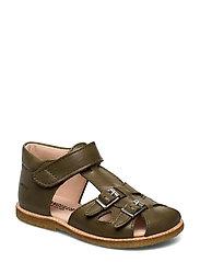 Sandals - flat - 2638 KHAKI