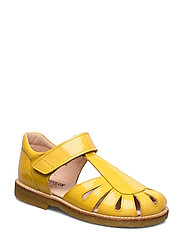 Sandals - flat - closed toe -  - 2339 YELLOW