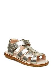 Sandals - flat - open toe - op - 1325 CHAMPAGNE