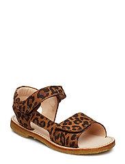 Sandals - flat - 2164 LEOPARD