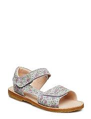 Sandals - flat - 2492 MULTI FLOWER