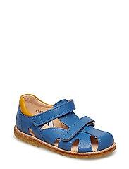 Sandals - flat - 1575/1574 DENIM BLUE/YELLOW