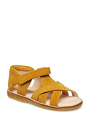 Sandals - flat - open toe - clo - 2201 YELLOW