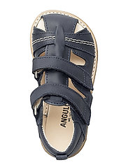 Sandal with 2 velcro closures