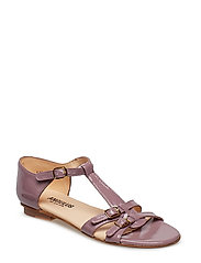 Sandals - flat - 1391 DUSTY FUCHSIA