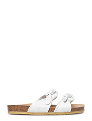 Sandals - flat - open toe - op - 1521 WHITE