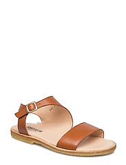 Sandal with buckle - 1431 COGNAC