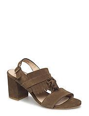 Sandals - Block heels - 1153 OLIVE