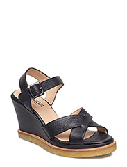 Sandals - wedge - 1933 BLACK