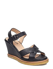 Sandals - wedge - 1933 BLACK