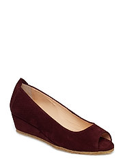 Sandals - flat - open toe - clo - 2195 BORDEAUX