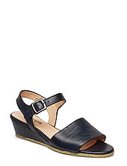 Sandals - flat - open toe - clo - 1530 NAVY