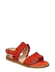 Sandals - flat - open toe - op - 2200 ORANGE