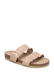 Sandals - flat - open toe - op - 2181 COPPER GLITTER
