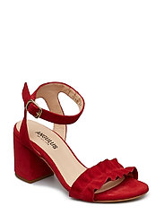 Sandals - wedge - open toe - cl - 2191 RøD