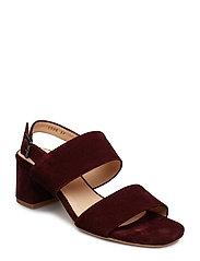 Sandals - Block heels - 2195 BORDEAUX