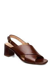 Sandals - Block heels - 1837 BROWN