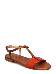Sandals - flat - 1789/2200 TAN/ORANGE
