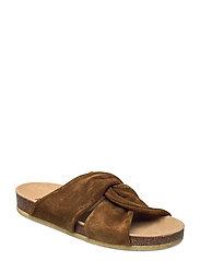 Sandals - flat - open toe - op - 2209 MUSTARD