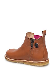 Booties - flat - with zipper