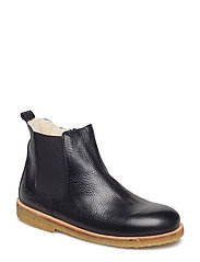 Boots - flat - zipper - 2504/001 BLACK/BLACK