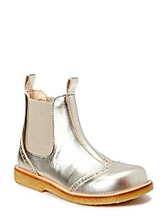 Booties - flat - with elastic - 1325/010 CHAMPAGNE/BEIGE