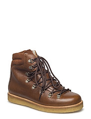 Boots - flat - with laces - 2509/1166 MEDIUM BROWN/COGNAC
