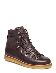 Boots - flat - with laces - 2505/2193 D.BROWN/D.BROWN
