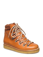 Boots - flat - with laces - 2621/1166 COGNAC/BROWN