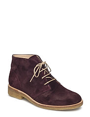 Booties - flat - 2195 BORDEAUX