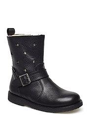 Boots - flat - 2504/1325 BLACK/CHAMPAGNE