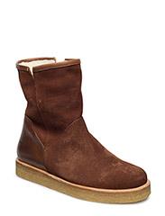 Boots - flat - 1166/2509 COGNAC/MEDIUM BROWN