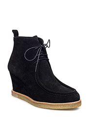 Booties - Wedge - 1163 BLACK