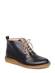 Boots - flat - 2504 BLACK