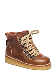 Boots - flat - with laces - 2509/1166/1660 COGNAC/BROWN/BR