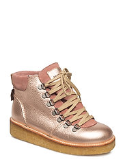 Boots - flat - with laces - 1537/2194 L.COPPER/POWDER