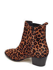 ANGULUS - Booties - Block heel - with elas - stiefeletten mit absatz - 1110/019 leopard/elastic - 3