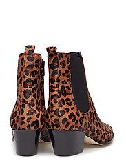 ANGULUS - Booties - Block heel - with elas - ankelstøvler med hæl - 1110/019 leopard/elastic - 5