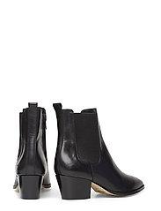 Booties - Block heel - with elas