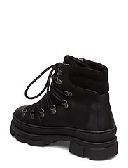 ANGULUS - Boots - flat - with laces - flache stiefeletten - 2100/1163 black - 2