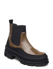 Boots - flat - 1321/1841/019  BLACK/D. OLIVEN