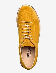 ANGULUS - Shoes - flat - with lace - buty sznurowane - 2201 yellow - 3