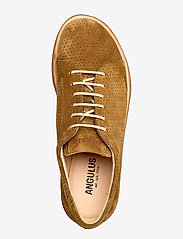 ANGULUS - Shoes - flat - with lace - snøresko - 2209 mustard - 3