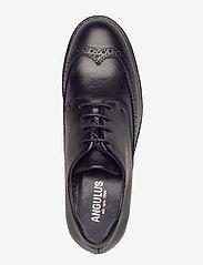 ANGULUS - Shoes - flat - with lace - buty sznurowane - 1835 black - 3
