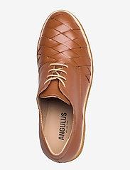 ANGULUS - Shoes - flat - snøresko - 1431 cognac - 3