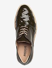ANGULUS - Shoes - flat - snøresko - 2345 olive - 3