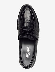 ANGULUS - Loafer - flat - loafers - 1674 black croco - 3